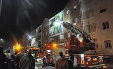 Incendio de una vivienda en Don Benito