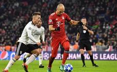 Robben confirma que dejará el Bayern y medita su retirada