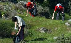 El proyecto 'Libera' limpiará de basura ocho espacios naturales de Extremadura