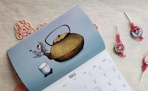'Doña Tos' expone en Badajoz la segunda edición de su calendario