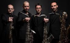 Concierto en Badajoz del cuarteto de saxos Folium Fugit