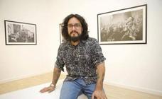 Jorge Armestar expone sus fotos del Jarramplas en Plasencia