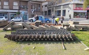 Obras en el campus de Plasencia para recuperar el vallado