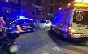 Herido leve en la colisión de un coche y una moto en el Paseo Fluvial de Badajoz