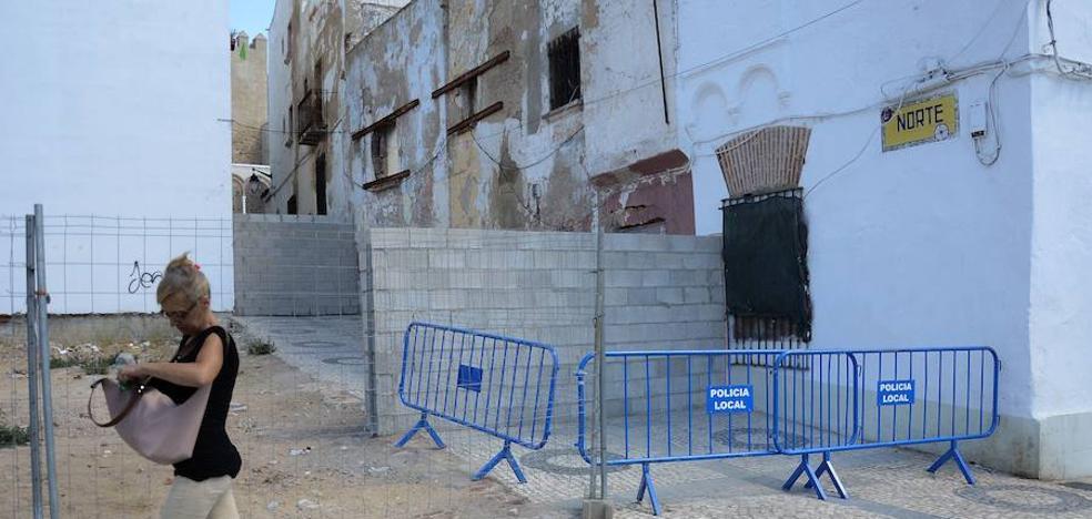 El Consistorio exige la apertura de la calle Norte de Badajoz tras cuatro años cerrada