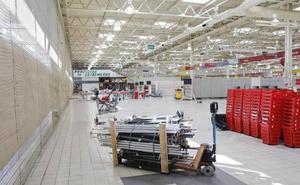 Las obras para instalar nuevos negocios en el Eroski en Cáceres comenzarán tras las navidades