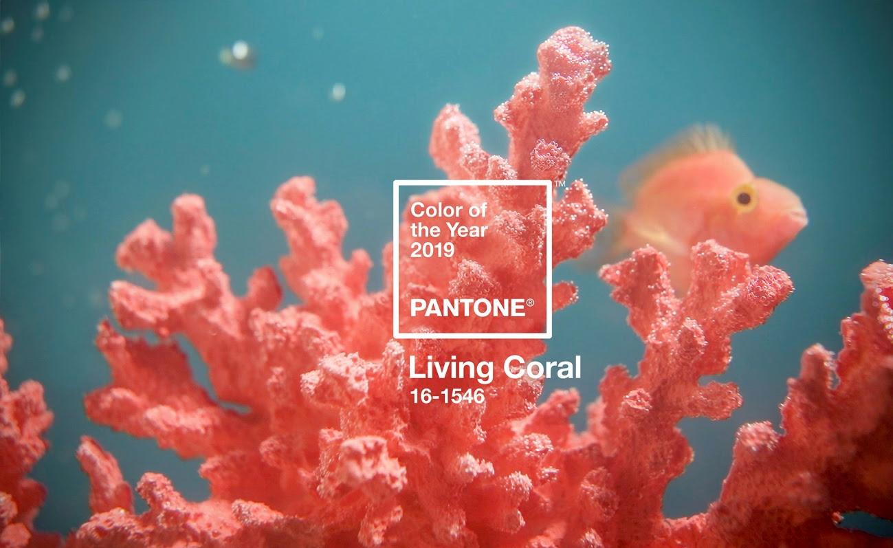 El color del 2019 es el 'Living coral'