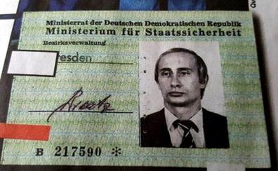 Sale a la luz un carné de Putin como agente de la Stasi en los 80