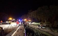 Mueren dos hombres en una colisión frontal cerca de Jerez de los Caballeros