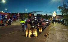 Rescate de un hombre herido tras caer al Rivillas en Badajoz