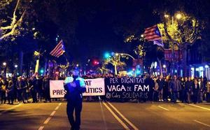 Los CDR llaman a la «batalla» el próximo 21-D durante el Consejo de Ministros en Barcelona