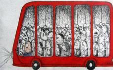 Moisés Yagües expone 'Al otro lado' en la sala de arte El Brocense de Cáceres