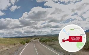 Herido grave un camionero en el vuelco de un tráiler cerca de Villafranca de los Barros