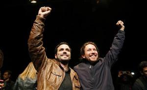 Los críticos de IU cargan contra Garzón e Iglesias por el fracaso en las andaluzas