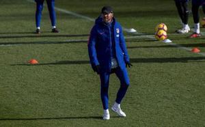Simeone: «Estar segundo en el Atlético de hoy no es bueno»