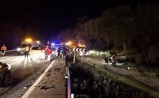 La mujer herida en el accidente de tráfico de Jerez continúa ingresada en la UCI