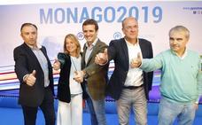 Casado apoya la candidatura de Monago y ratifica a Nevado y Fragoso para alcaldes