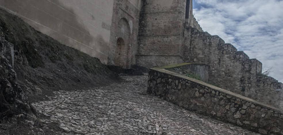 La Alcazaba de Badajoz quedará conectada con Circunvalación a finales de año