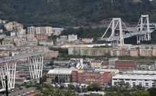 Comienzan las obras de demolición del puente siniestrado en Génova