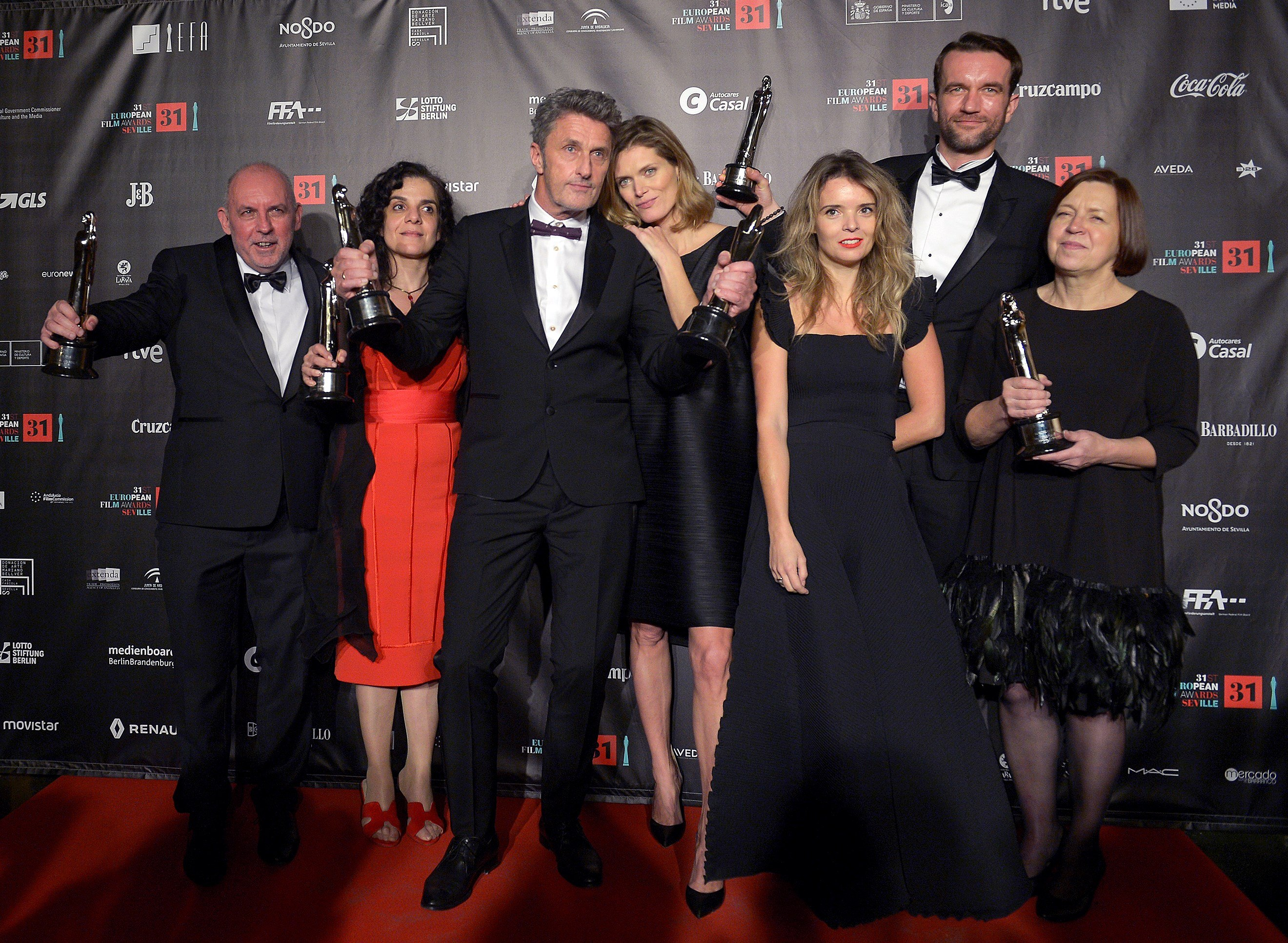 La polaca 'Cold War' triunfa en los Premios de Cine Europeo