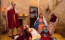 150 vecinos participan en el Belén Viviente de Montemolín
