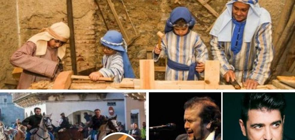 Belenes vivientes, música y el día de la Machorrita