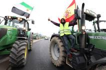 Cientos de tractores reclaman ante Agricultura precios dignos