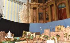 Las humedades alcanzan ya al retablo del templo cofrade de Santo Domingo en Plasencia