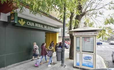 Los detenidos por atracar un banco en Badajoz utilizaron un machete y un hacha