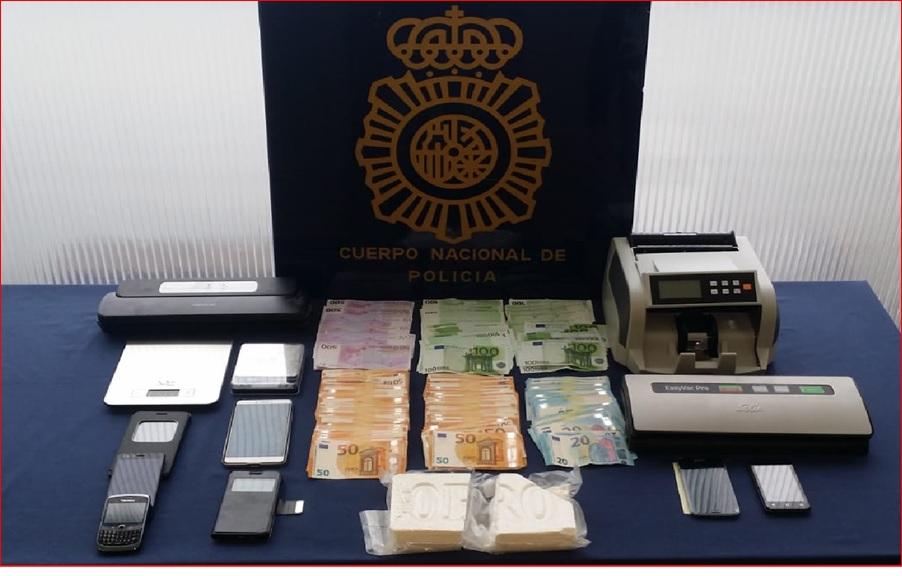 Detenido por traer droga desde Galicia para distribuirla en la provincia de Badajoz