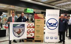 Fedexcaza+ dona 300 raciones de comida para comedores sociales y productos al Banco de Alimentos