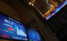 El Ibex-35 cae un 0,46% y cierra en mínimos desde agosto de 2016
