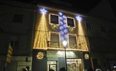 El espectáculo de luz y sonido de Omicrón, mejor escaparate navideño en Cáceres