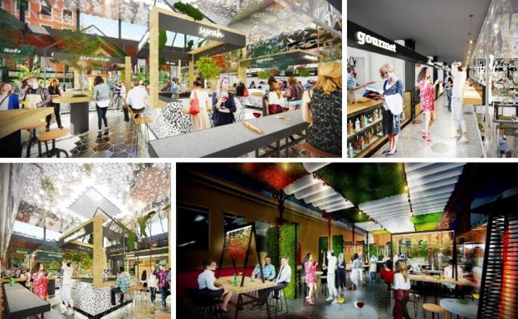Aspecto que tendrá el nuevo mercado de Calatrava en Mérida