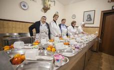 Más de 70 personas subsisten a diario gracias al comedor de las Hijas de la Caridad
