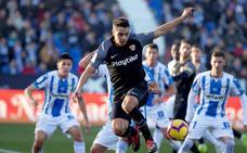 Ben Yedder rescata un punto para el Sevilla en Butarque