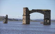 Los pantanos extremeños están al 55% de su capacidad, diez puntos porcentuales más que hace un año