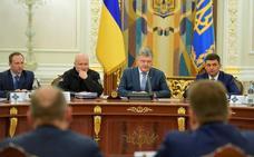 El presidente de Ucrania anuncia el final de la ley marcial un mes después