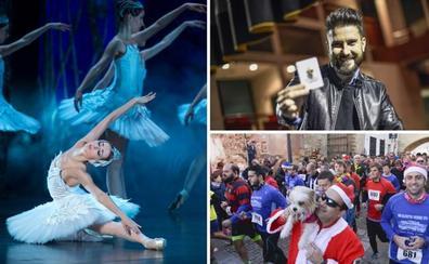 Extremadura despide el 2018 con música, magia y a la carrera