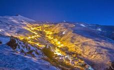 Esquí nocturno para finalizar el año