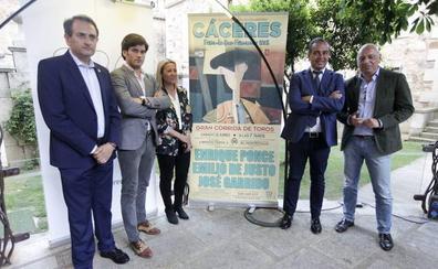 El empresario que organizó la corrida de ferias de Cáceres trata de cobrar el dinero de Liberbank