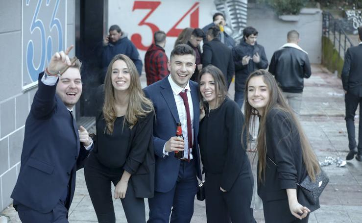 Celebración de la Nochevieja en Cáceres