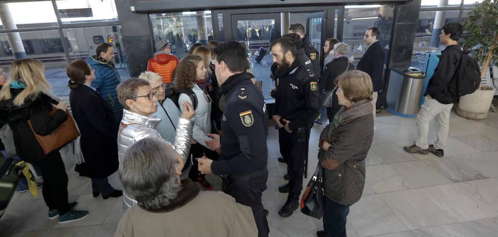 El primer tren extremeño del año con destino Madrid se avería