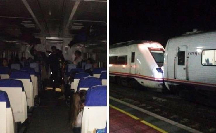 Así vivieron los usuarios del tren la avería que se registró en Navalmoral