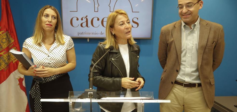 La prórroga del presupuesto de Cáceres implica un recorte de 7,2 millones en los gastos