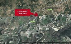 Una mujer de 45 años resulta herida en una salida de vía en Torremenga