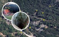 Alertan de la existencia de ocho pozos mineros desprotegidos en Valdeflores