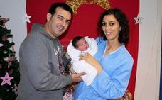 Mateo González Muñoz, primer bebé nacido en el hospital Campo Arañuelo en 2019
