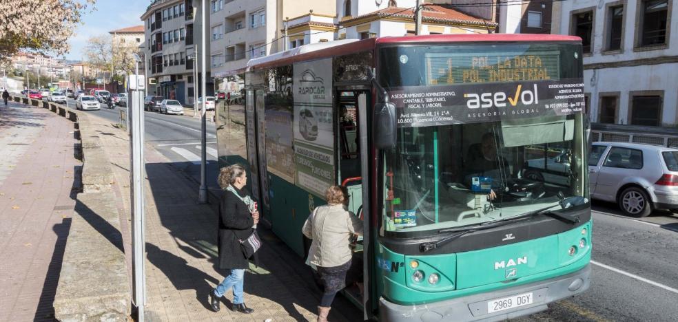El autobús urbano de Plasencia supera los 600.000 viajeros por segundo año consecutivo