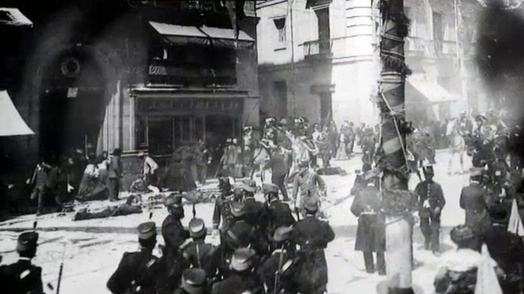 El atentado al Rey Alfonso XIII y la huida por Extremadura